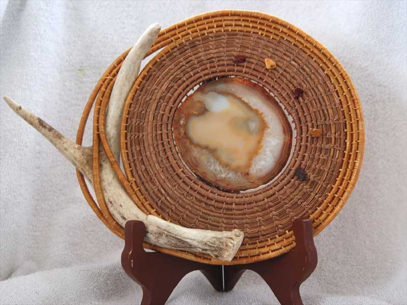 Pine Needle and Antler By Debbie Rouleau
