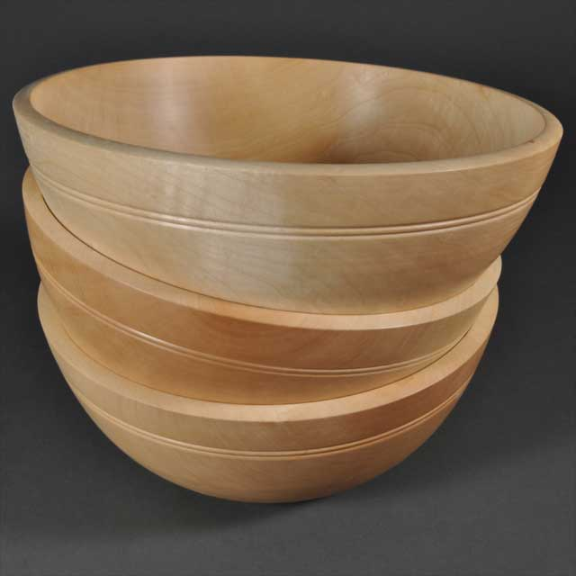 Wooden Bowls by Corin Flood